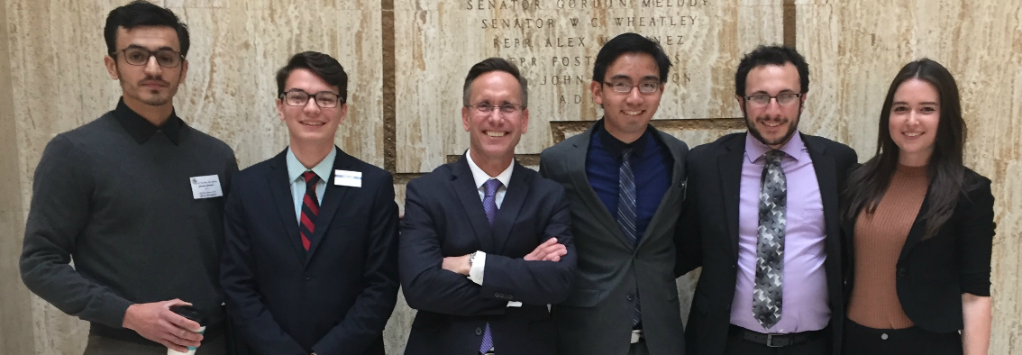 Our NM State Legislative Internship pairs students with legislators to provide the interns with an immersive, hands-on learning experience in the state's capitol.